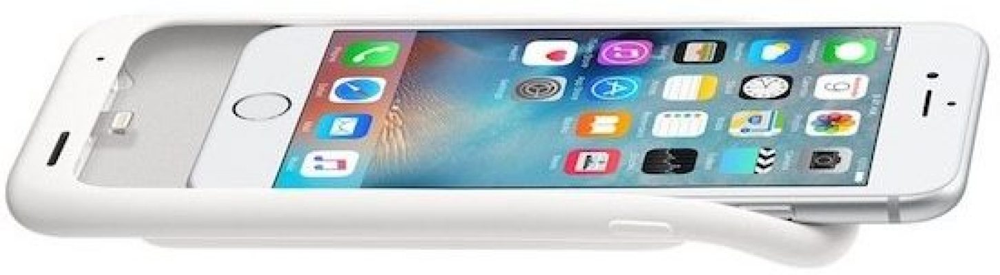 Coque apple rechargeable